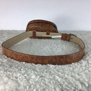 Steve Madden Bags - Steve Madden Chevron Quilted Belt Bag Cognac DA01